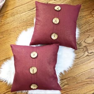 Thro by Marlo Lorenz Feather Down Pillows Set of 2